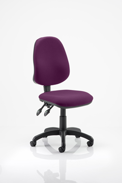 Picture of Office Chair Company Eclipse II Lever Task Operator Chair Bespoke Colour Purple