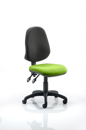 Picture of Office Chair Company Eclipse II Lever Task Operator Chair Bespoke Colour Seat Swizzle