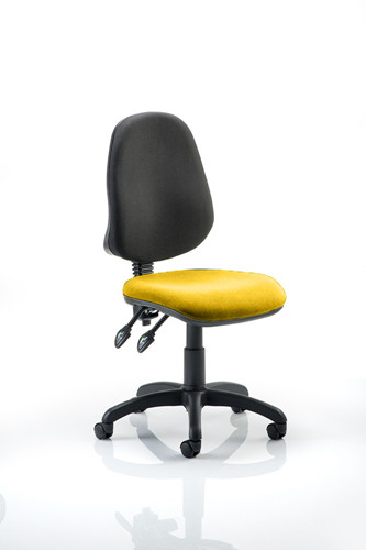 Picture of Office Chair Company Eclipse II Lever Task Operator Chair Bespoke Colour Seat Sunset