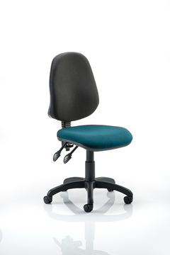 Picture of Office Chair Company Eclipse II Lever Task Operator Chair Bespoke Colour Seat Kingfisher