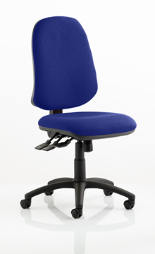 Picture of Office Chair Company Eclipse XL III Lever Task Operator Chair Bespoke Colour Serene