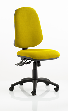 Picture of Office Chair Company Eclipse XL III Lever Task Operator Chair Bespoke Colour Sunset
