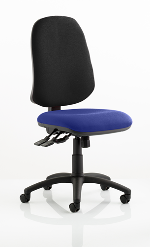 Picture of Office Chair Company Eclipse XL III Lever Task Operator Chair Bespoke Colour Seat Kingfisher