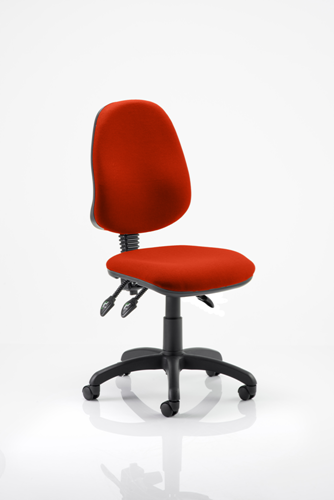 Picture of Office Chair Company Eclipse III Lever Task Operator Chair Bespoke Colour Pimento