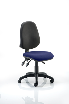 Picture of Office Chair Company Eclipse III Lever Task Operator Chair Bespoke Colour Seat Serene