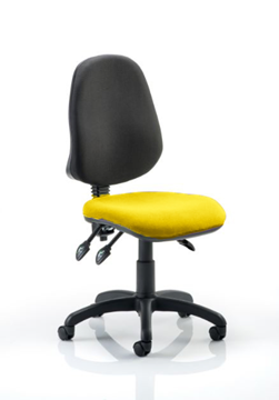 Picture of Office Chair Company Eclipse III Lever Task Operator Chair Bespoke Colour Seat Sunset