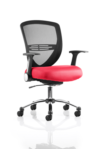 Picture of Office Chair Company Iris Bespoke Colour Seat Cherry