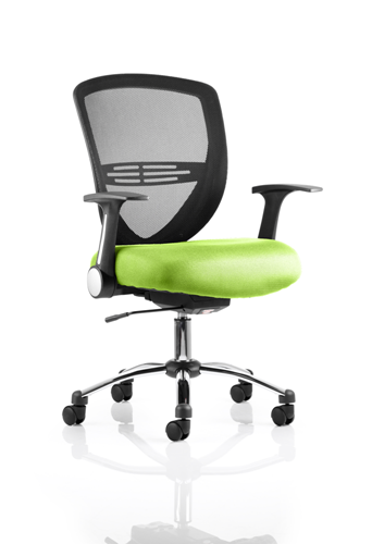 Picture of Office Chair Company Iris Bespoke Colour Seat Swizzle