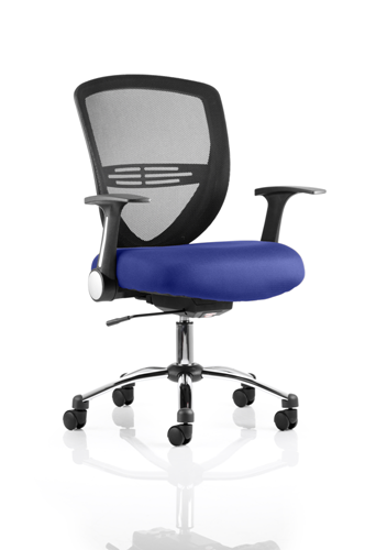 Picture of Office Chair Company Iris Bespoke Colour Seat Serene