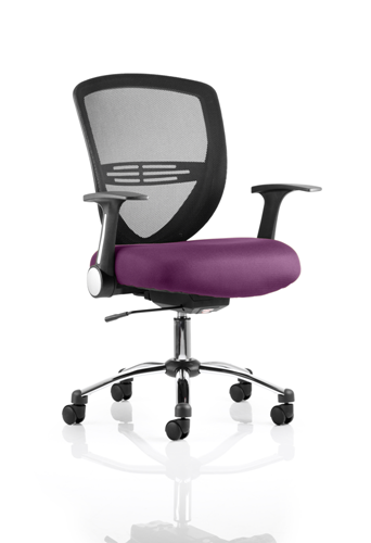 Picture of Office Chair Company Iris Bespoke Colour Seat Purple
