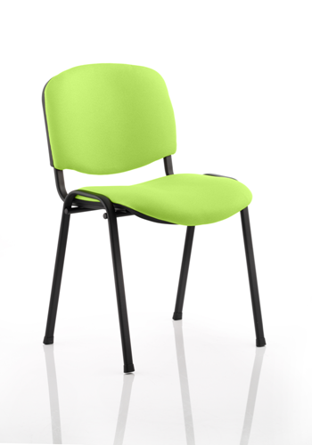 Picture of Office Chair Company Iso Black Frame Bespoke Colour Fabric - (Min Order Qty X 4) Swizzle