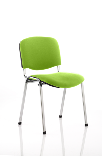 Picture of Office Chair Company Iso Chrome Frame Bespoke Colour Fabric - (Min Order Qty X 4) Swizzle