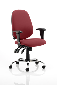 Picture of Office Chair Company Lisbon Bespoke Colour Chilli