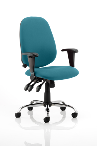 Picture of Office Chair Company Lisbon Bespoke Colour Kingfisher