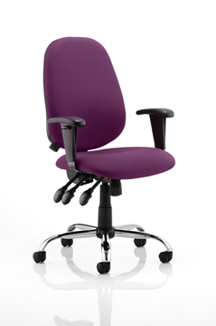 Picture of Office Chair Company Lisbon Bespoke Colour Purple