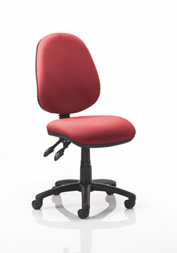 Picture of Office Chair Company Luna II Lever Task Operator Chair Bespoke Colour Chilli