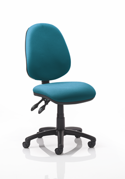 Picture of Office Chair Company Luna II Lever Task Operator Chair Bespoke Colour Kingfisher