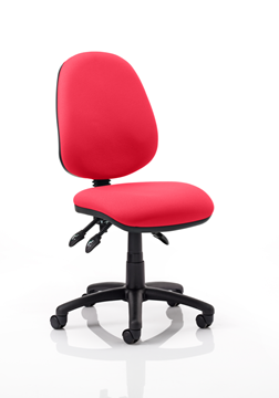 Picture of Office Chair Company Luna III Lever Task Operator Chair Bespoke Colour Cherry