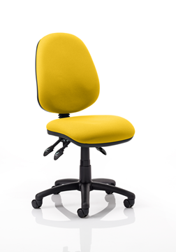 Picture of Office Chair Company Luna III Lever Task Operator Chair Bespoke Colour Sunset