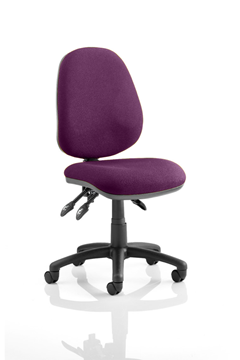Picture of Office Chair Company Luna III Lever Task Operator Chair Bespoke Colour Purple