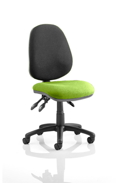 Picture of Office Chair Company Luna III Lever Task Operator Chair Bespoke Colour Seat Swizzle