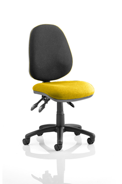Picture of Office Chair Company Luna III Lever Task Operator Chair Bespoke Colour Seat Sunset