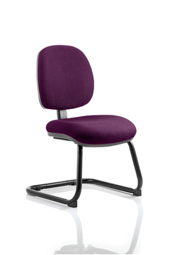 Picture of Office Chair Company Luna Cantilever Bespoke Colour Purple