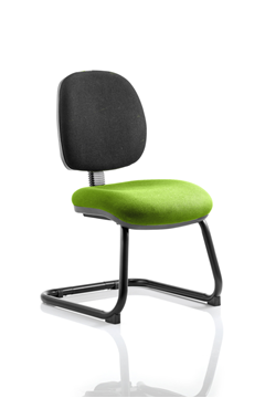 Picture of Office Chair Company Luna Cantilever Bespoke Colour Seat Swizzle