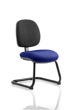 Picture of Office Chair Company Luna Cantilever Bespoke Colour Seat Serene