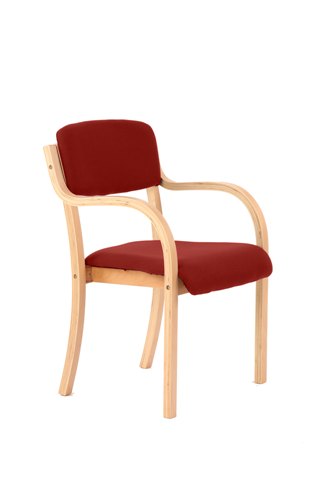 Picture of Office Chair Company Madrid Bespoke Colour Chilli