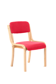 Picture of Office Chair Company Madrid No Arms Bespoke Colour Cherry
