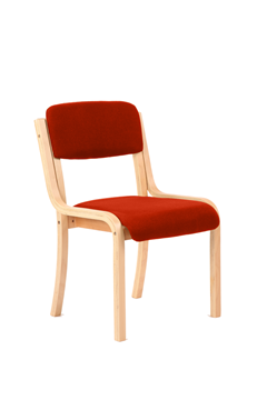 Picture of Office Chair Company Madrid No Arms Bespoke Colour Pimento