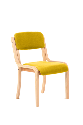 Picture of Office Chair Company Madrid No Arms Bespoke Colour Sunset