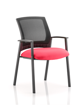 Picture of Office Chair Company Metro Bespoke Colour Seat Cherry