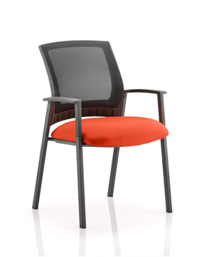Picture of Office Chair Company Metro Bespoke Colour Seat Pimento