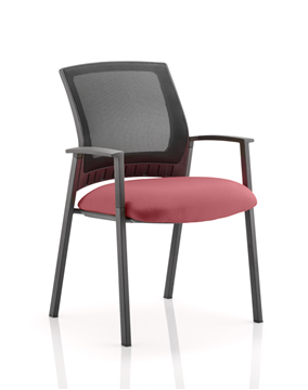 Picture of Office Chair Company Metro Bespoke Colour Seat Chilli