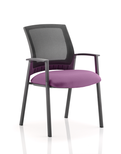 Picture of Office Chair Company Metro Bespoke Colour Seat Purple