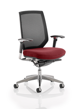 Picture of Office Chair Company Midas Bespoke Colour Seat Chilli