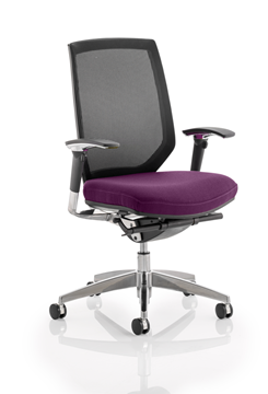 Picture of Office Chair Company Midas Bespoke Colour Seat Purple