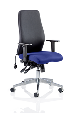 Picture of Office Chair Company Onyx Bespoke Colour Seat Without Headrest Serene