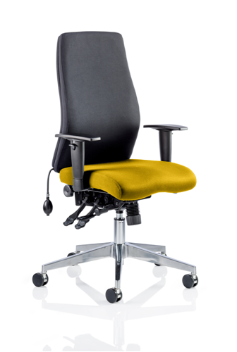 Picture of Office Chair Company Onyx Bespoke Colour Seat Without Headrest Sunset
