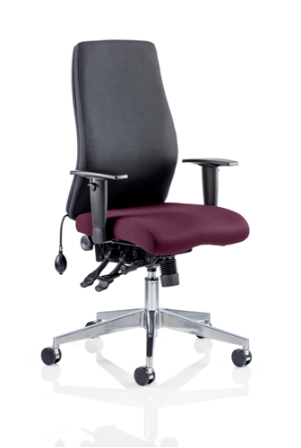 Picture of Office Chair Company Onyx Bespoke Colour Seat Without Headrest Purple
