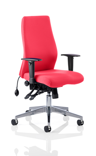 Picture of Office Chair Company Onyx Bespoke Colour Without Headrest Cherry