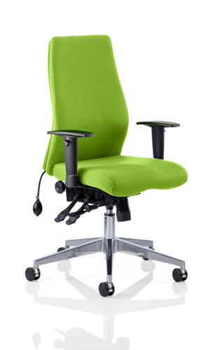 Picture of Office Chair Company Onyx Bespoke Colour Without Headrest Swizzle