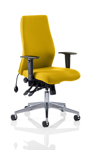 Picture of Office Chair Company Onyx Bespoke Colour Without Headrest Sunset