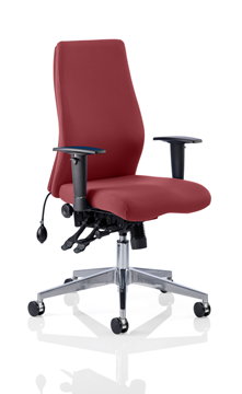 Picture of Office Chair Company Onyx Bespoke Colour Without Headrest Chilli