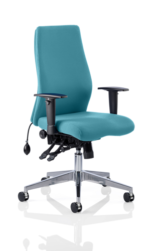 Picture of Office Chair Company Onyx Bespoke Colour Without Headrest Kingfisher