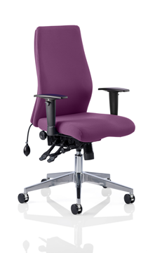 Picture of Office Chair Company Onyx Bespoke Colour Without Headrest Purple