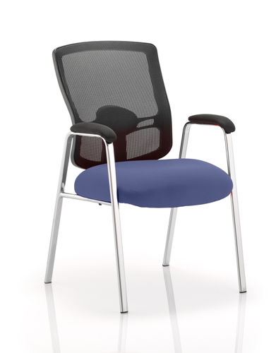 Picture of Office Chair Company Portland Visitor (Straight Leg) Bespoke Colour Seat Serene
