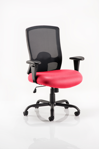 Picture of Office Chair Company Portland Hd Bespoke Colour Seat Cherry